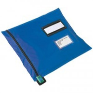 Versapak Mailing Pouch Durable PVC-coated Nylon 355x470mm Blue Ref CVF3BL