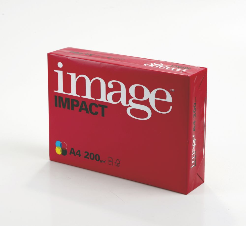 Image Impact FSC4 A4 210X297mm 200Gm2 Pack 250