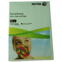 Xerox Symphony Pastel Blue A3 297X420mm 80Gm2 FSC4 Pack 500 003R91953