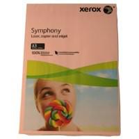 Xerox Symphony Pastel Pink A3 297X420mm 80Gm2 FSC4 Pack 500 003R92261