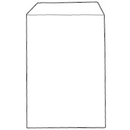 White Box Envelope Press Seal Pocket C4 White [Pack 250]