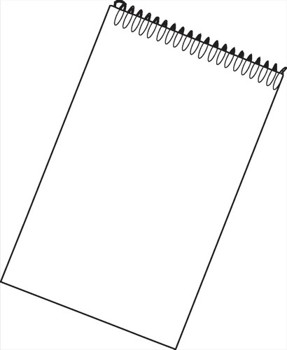 White Box Spiral Notepad 80 Sheets [Pack 10]