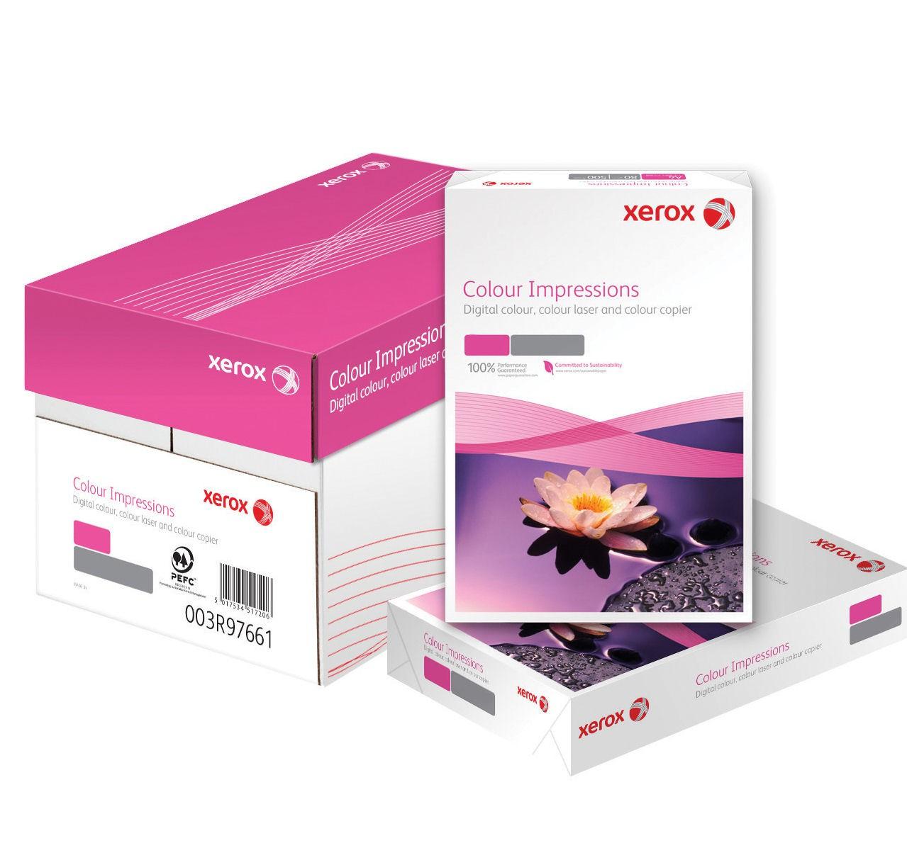 Xerox Colour Impressions A4 210X297mm PEFC 120Gm2 LG Pack 500 003R98685