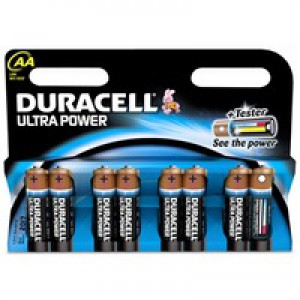 Duracell Ultra Power MX1500 Battery Alkaline 1.5V AA Ref 81235502 [Pack 12]