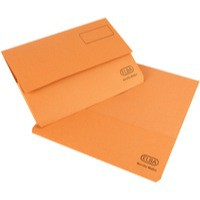 Elba Bright Manilla Document Wallet 290gsm Foolscap Orange 100090269