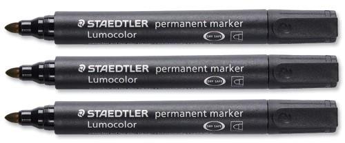 Staedtler Perm Marker Bullet Black 3529