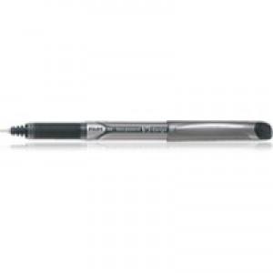 Pilot V5 Rollerball Pen Rubber Grip Needle Point 0.5mm Tip 0.3mm Line Black Code BXGPNV501