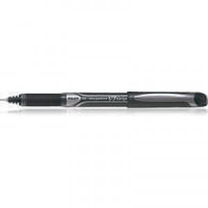 Pilot V7 Rollerball Pen Rubber Grip Needle Point 0.7mm Tip 0.5mm Line Black Code BXGPNV701