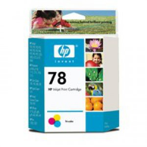 Hewlett Packard [HP] No. 78 Inkjet Cartridge Page Life 450pp 19ml Colour Ref C6578D