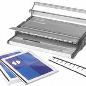 GBC Surebind 500 Office Strip Binder Manual Binds 500 Sheets Punches 26x 80gsm A4 Code 4400400