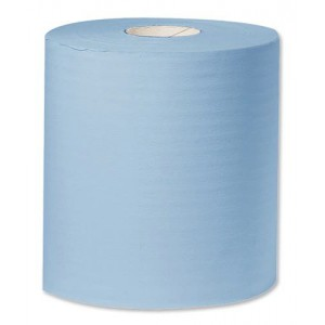Kimberly-Clark Mobi Roll Industrial Cleaning Towel Giant 2-Ply 400mmx360m Blue Code Y04440
