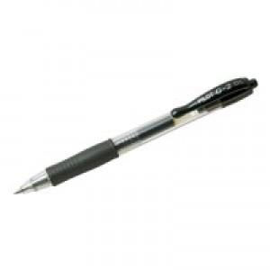 Pilot G205 Retractable Gel Pen Black 040101201