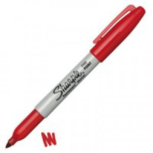 Sharpie Permanent Marker Fine Tip 1.0mm Line Assorted Pack 4 Code S0810970