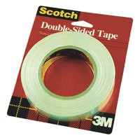 Scotch Artists Tape Double Sided with Liner for Mounting and Holding 12mmx33m Ref DS1233 [Pack 12]