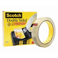 Scotch Artists Tape Double Sided with Liner for Mounting and Holding 25mmx33m Ref DS2533 [Pack 6]