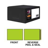 Vibrant Wallet Envelope C4 229x324MM Superseal Lime Green 120GSM Boxed 250