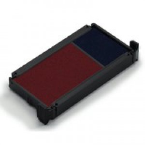 Trodat 6/4750/2 Replacement Ink Pad For Printy 4750 Red/Blue Code 78253