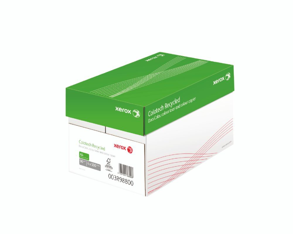 Xerox Colotech Recycled S3 320X450mm FSC Mixed Credit 90Gm2 FSC4 Pack 500 003R98802
