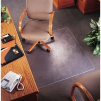 Image for 5 Star Chair Mat Carpet Protection PVC W900xD1200mm Clear/Transparent