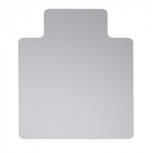5 Star Chair Mat Carpet Protection PVC W1150xD1340mm Clear/Transparent