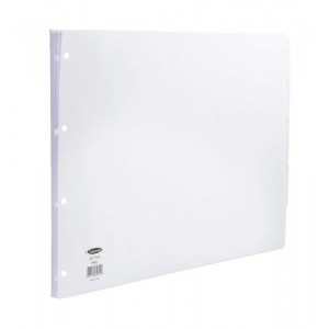Concord White Subject Divider A3 5 Part Code 79801