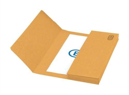 Elba Premium Document Wallet Capacity 38mm Foolscap Yellow Ref 100090264 [Pack 25]
