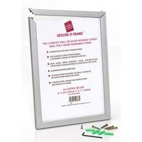 Photo Frame Secure Aluminium Non Glass A3