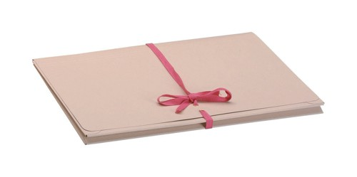 Guildhall Legal Wallets Croydon Manilla Pink Ribbon 270gsm 75mm Gusset Foolscap Ref 239Z [Pack 25]