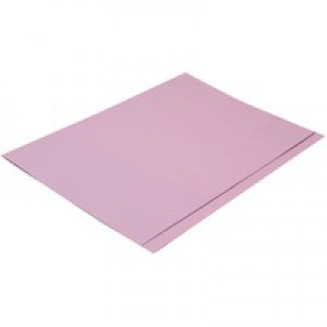 Concord Square Cut Folder Foolscap Medium Weight 270gsm Mauve 43214