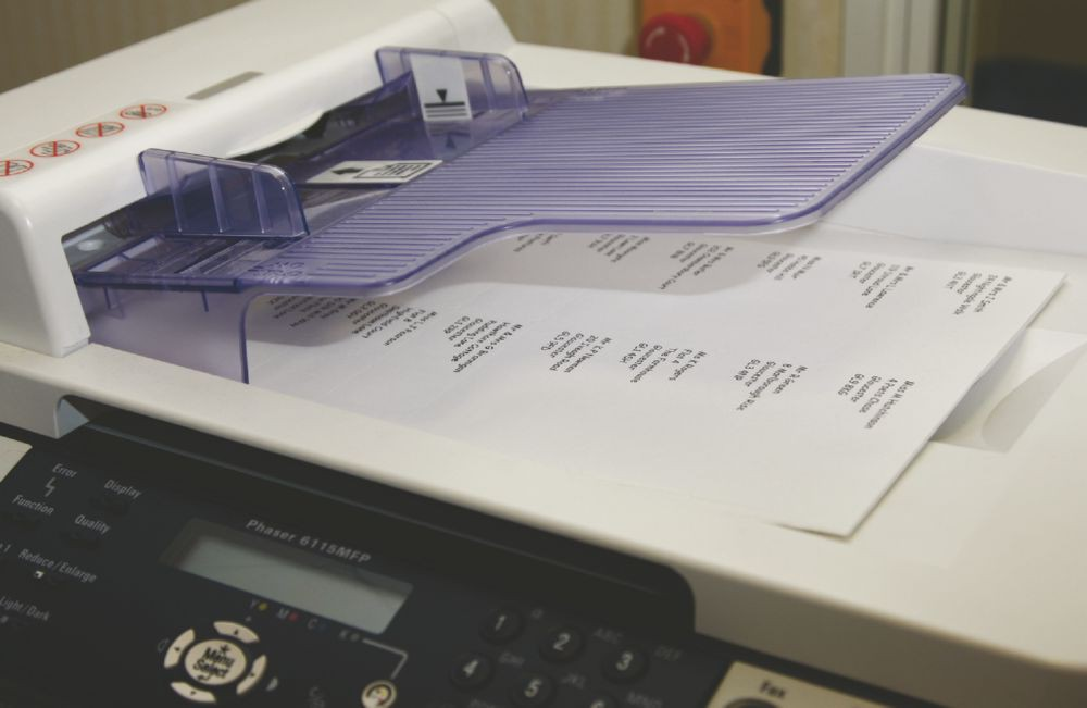 Xerox MonoLaser HS Labels 24Up A4 36x67mm White Uncoated Removable Packed 500 003R96178