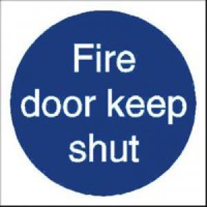 Fire Door Keep Shut Sav Pk5 M014SAV