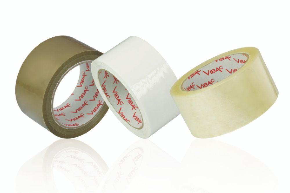 Vibac 425 Polyprop Tape Clear Hotmelt 25mu 75mm x 990M Pack 4