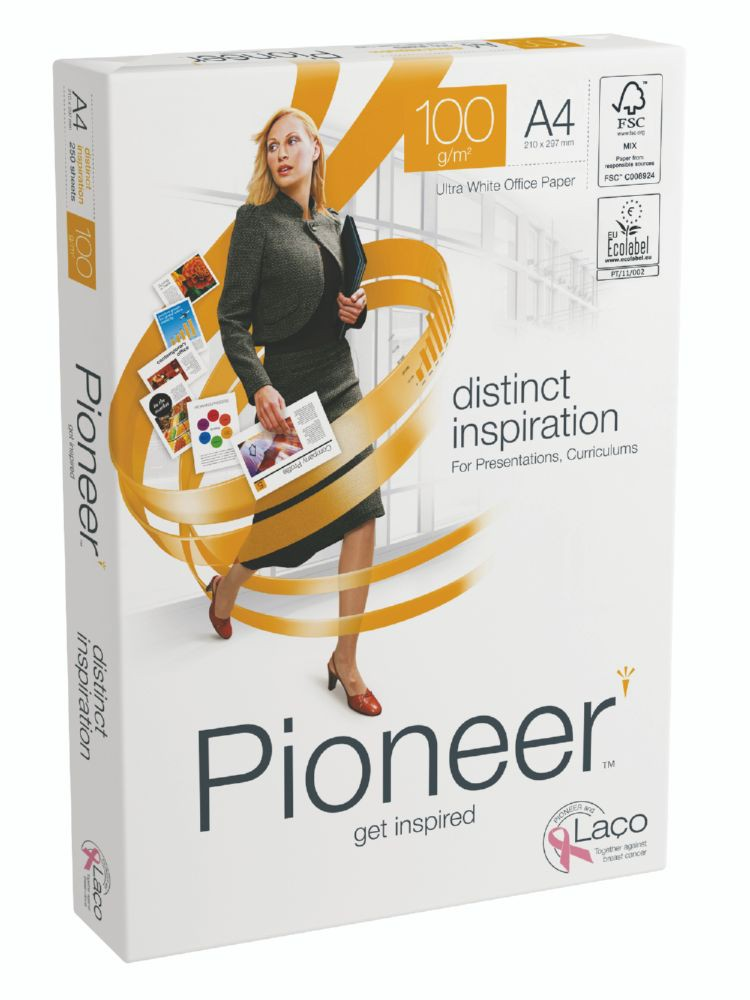 Pioneer Everyday Paper FSC4 A4 75g Packed 500 NonStopBox