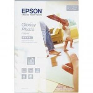 Epson Glossy 10x15cm Photo Paper Pk50