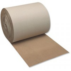 Corrugated Paper 100 percent Recycled Single Faced Roll 900mmx75m