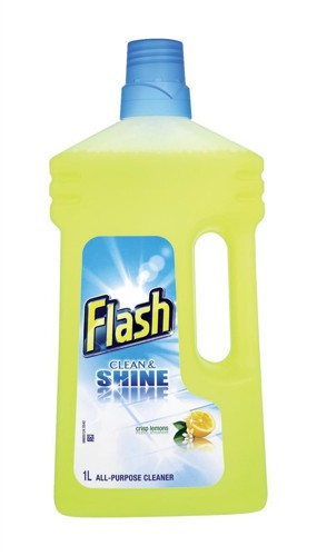 Flash All Purpose Cleaner For Washable Surfaces 1 Litre Lemon Fragrance Code N05865