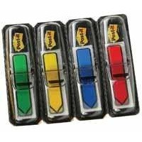 Post-it Index Arrows Repositionable W12xH43mm 4 Bright Colours Ref 684ARR4 [Pack 96]