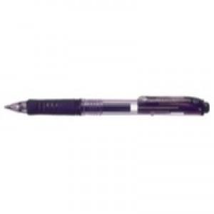 Pentel Energel X Gel Pen Black includes 2 Pens FOC BL107/14-A
