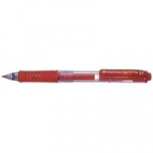 Pentel Energel X Gel Pen Red includes 2 Pens FOC BL107/14-B
