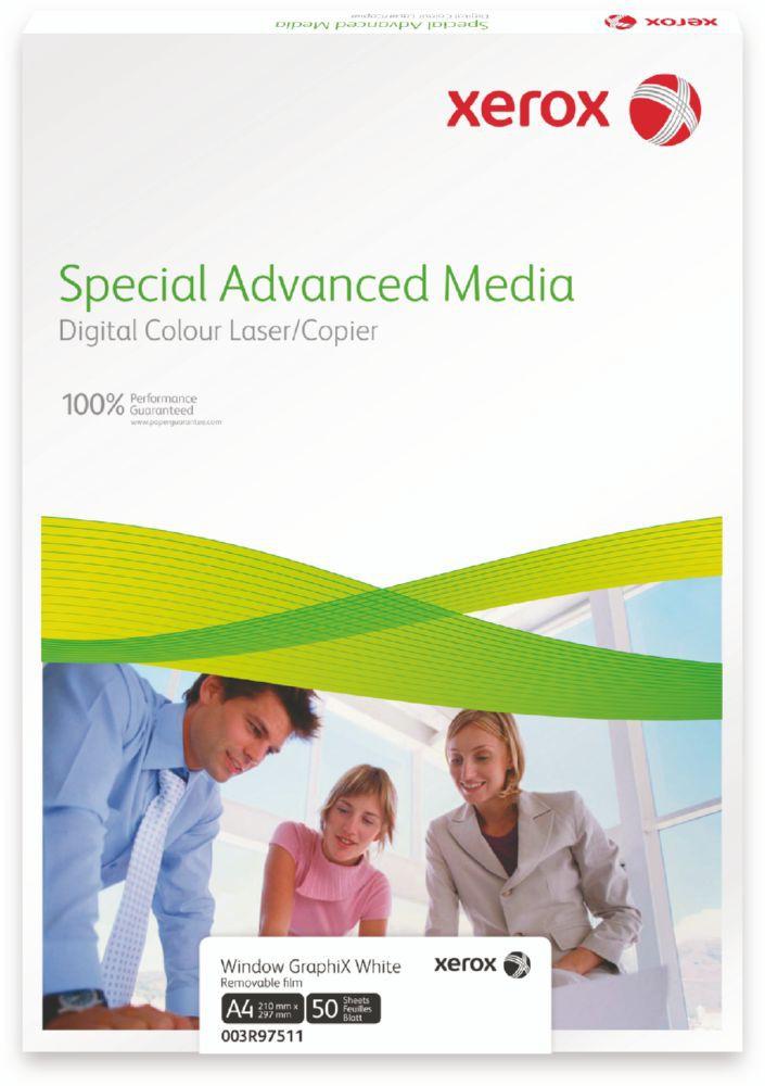 Xerox Premium Never Tear Matt White Self Adh Film A3 297X420mm Pack 50 007R92027