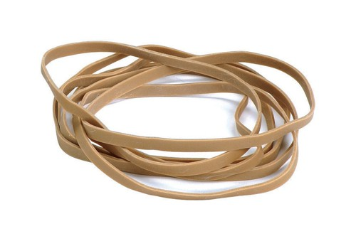 Quality Rubber Bands No.108 Each 203x16mm Ref AR25085 [Box 0.454kg]