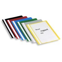 Rexel Report File A4 Assorted Pack of 25 12602AS
