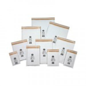 Jiffy Mailmiser Protective Envelopes Bubble-lined No.3 White 220x380mm Ref JMM-WH-3 [Pack 50]