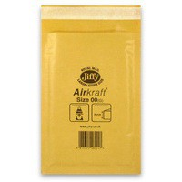 Jiffy AirKraft Bag Gold 115x195mm Pack of 100 JL-GO-00