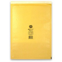 Jiffy Airkraft Bubble Bag Envelopes No.7 Gold 340x445mm Ref JL-GO-7 [Pack 50]