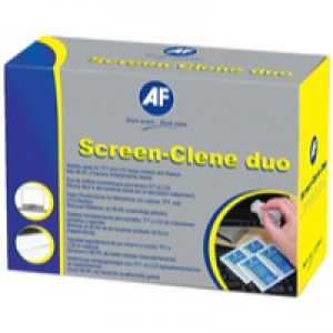 AF Screen Clene Wet/Wet Sachet Pack of 100 ASCS100