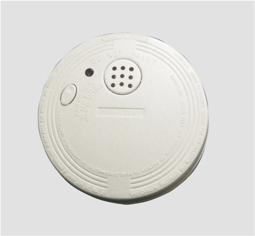 Eurosonic Smoke Alarm Battery-operated Alarm Test Button Low Charge Warning Ref ES120 [Pack 3]