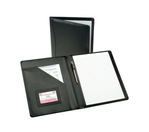 Portfolio Leather W245xH320mm Black