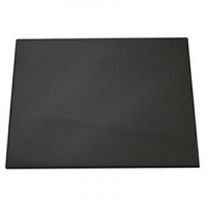 Durable Desk Mat Contoured Edge W530xD400mm Black Ref 7102/01