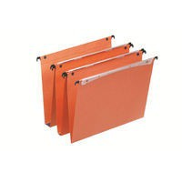 Esselte Orgarex Vertical Suspension File V-Bottom A4 Pack of 25 21631